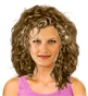 Hairstyle [2145] - everyday woman, medium hair curly