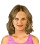 Hairstyle [8529] - everyday woman, medium hair straight