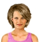 Hairstyle [2478] - everyday woman, medium hair wavy