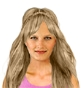 Hairstyle [2417] - everyday woman, long hair wavy