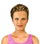 Hairstyle [2344] - everyday woman, short hair curly