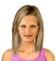 Hairstyle [8390] - everyday woman, medium hair straight