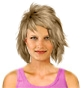 Hairstyle [6089] - everyday woman, medium hair straight