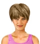 Hairstyle [2479] - everyday woman, short hair straight