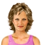 Hairstyle [2378] - everyday woman, short hair wavy