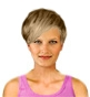 Hairstyle [9831] - everyday woman, short hair straight