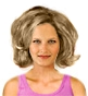 Hairstyle [1606] - everyday woman, medium hair wavy