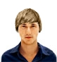 Hairstyle [945] - man hairstyle, medium hair straight