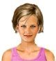 Hairstyle [2380] - everyday woman, short hair straight