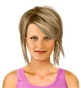 Hairstyle [8463] - everyday woman, medium hair straight