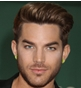 Hairstyle [10534] - Adam Lambert, short hair straight