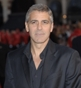Hairstyle [424] - George Clooney, long hair straight