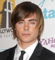 Hairstyle [247] - Zac Efron, long hair straight