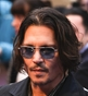 Hairstyle [6853] - Johny Depp, long hair straight