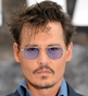 Hairstyle [8074] - Johnny Depp, short hair straight