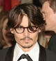 Hairstyle [546] - Johnny Depp, short hair curly