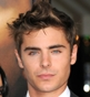 Hairstyle [4824] - Zac Efron, short hair straight