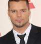 Hairstyle [743] - Ricky Martin, short hair straight