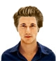 Hairstyle [6455] - man hairstyle, medium hair straight