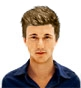 Hairstyle [2726] - man hairstyle, short hair straight