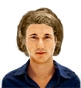 Hairstyle [1494] - man hairstyle, medium hair wavy