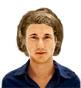 Hairstyle [1494] - man hairstyle, medium hair wavy