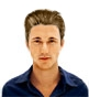 Hairstyle [6012] - man hairstyle, medium hair straight