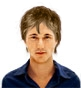 Hairstyle [3343] - man hairstyle, short hair straight