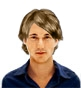 Hairstyle [1777] - man hairstyle, medium hair wavy