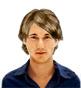 Hairstyle [1777] - man hairstyle, medium hair wavy