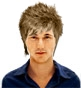 Hairstyle [3478] - man hairstyle, short hair straight