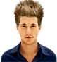Hairstyle [5289] - man hairstyle, medium hair straight