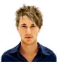Hairstyle [4058] - man hairstyle, medium hair straight