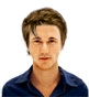Hairstyle [2391] - man hairstyle, short hair wavy