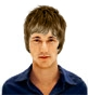 Hairstyle [5860] - man hairstyle, medium hair straight
