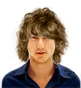 Hairstyle [4497] - man hairstyle, medium hair wavy