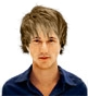Hairstyle [3017] - man hairstyle, medium hair straight