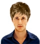 Hairstyle [2911] - man hairstyle, short hair wavy