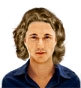 Hairstyle [3058] - man hairstyle, medium hair wavy