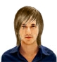 Hairstyle [3014] - man hairstyle, medium hair straight