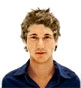 Hairstyle [1449] - man hairstyle, short hair straight