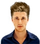 Hairstyle [4828] - man hairstyle, medium hair straight
