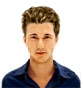 Hairstyle [6062] - man hairstyle, medium hair straight