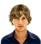 Hairstyle [1251] - man hairstyle, short hair wavy