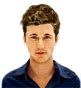 Hairstyle [5884] - man hairstyle, short hair straight
