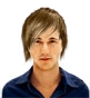 Hairstyle [2910] - man hairstyle, medium hair straight
