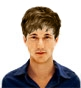 Hairstyle [5940] - man hairstyle, short hair straight