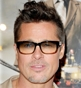 Hairstyle [8940] - Brad Pitt, short hair straight