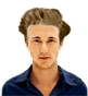 Hairstyle [9916] - man hairstyle, short hair wavy