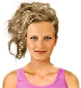 Hairstyle [2396] - party and glamorous